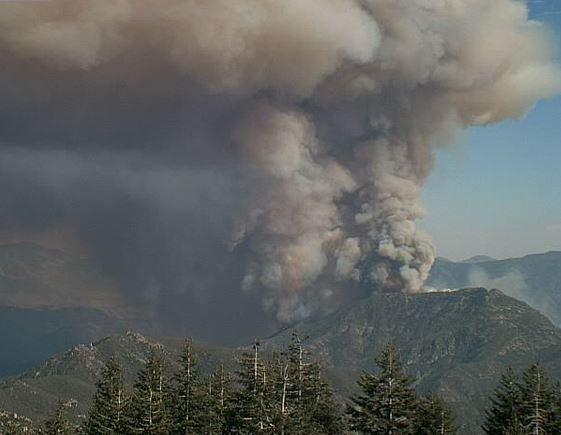 Way Fire at 4:03 p.m. August 18, 2014