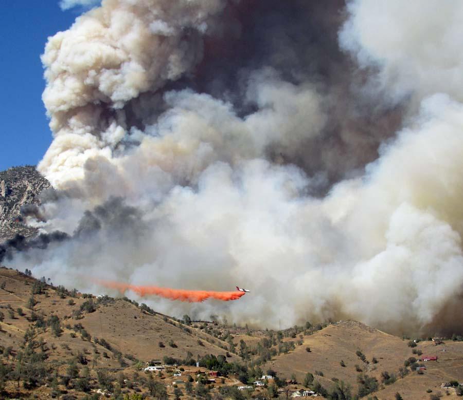 Way fire Kernville
