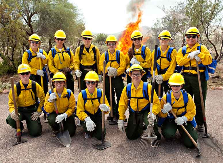 Women in Fire Bootcamp