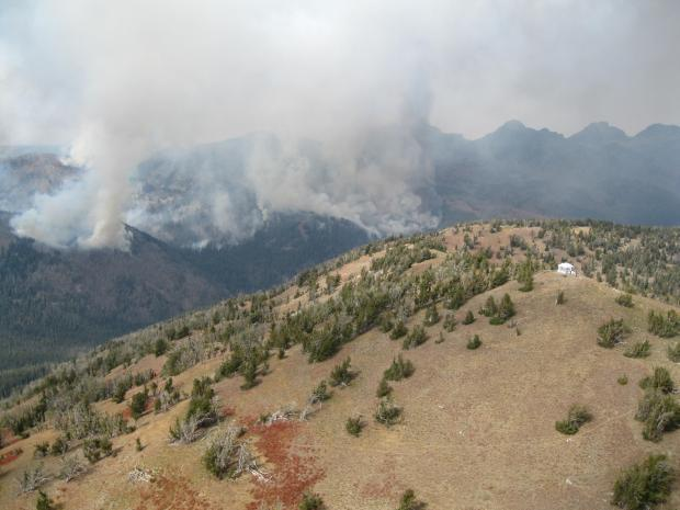 Freezeout Ridge Fire