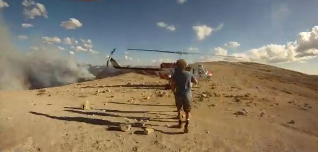 helicopter evacuation from Half Dome