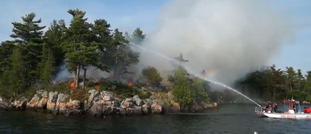 Parks Canada prescribed fire