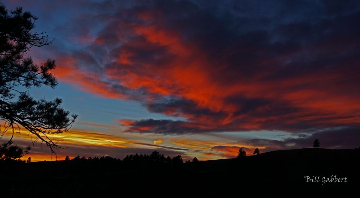 WICA sunset Photo by Bill Gabbert