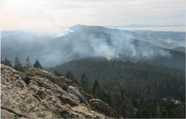 sequoia national forest prescribed fire.