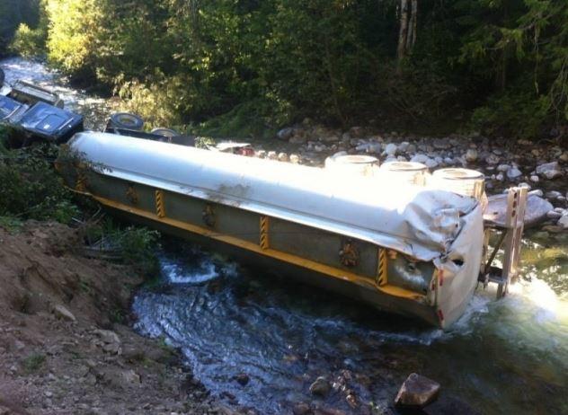 fuel truck lemon creek