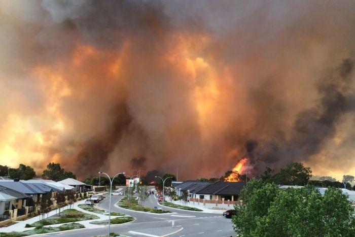 Perth fire