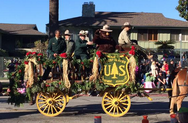 Forest Service Rose Parade