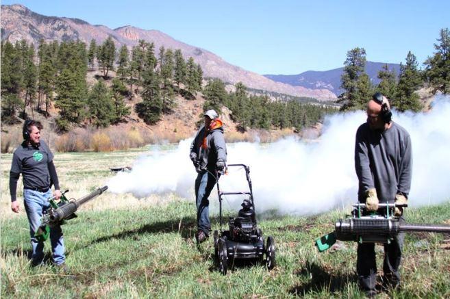 filming the big burn