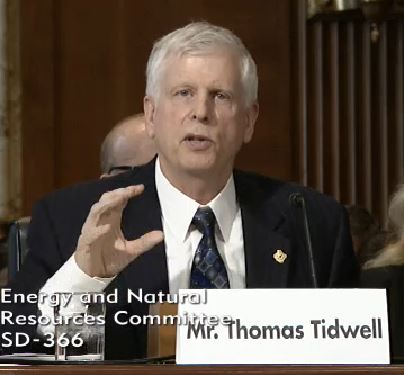 Forest Service Chief Thomas Tidwell