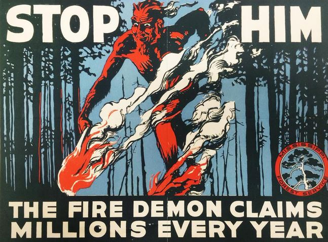 Mississippi Forestry Commission poster 1926