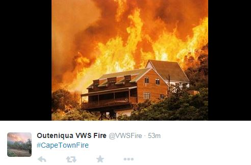 Cape Town Fires
