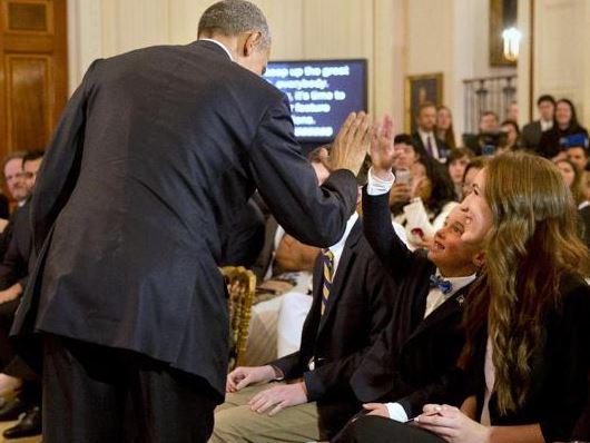 Noah Gue President Obama