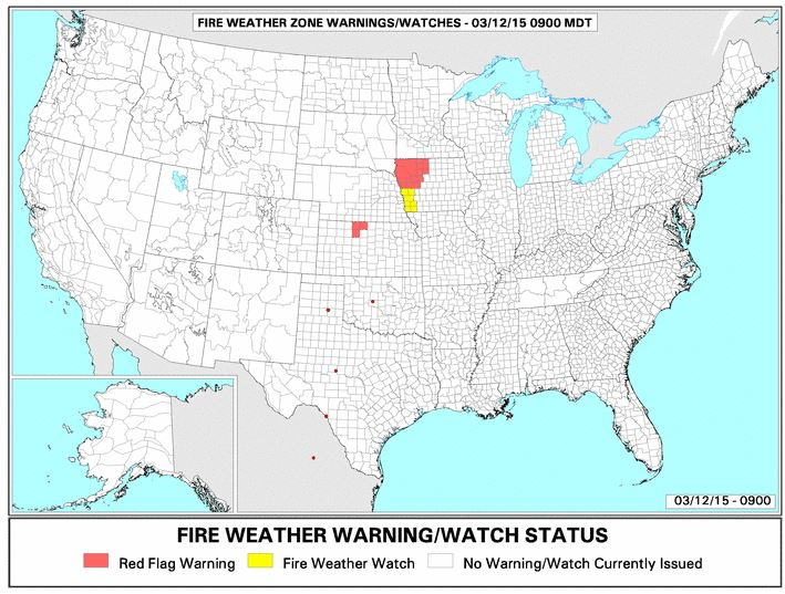 Red Flag Warning, 3-12-2015