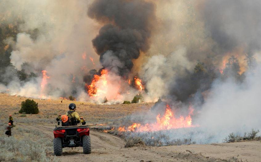Sawmill Canyon Fire