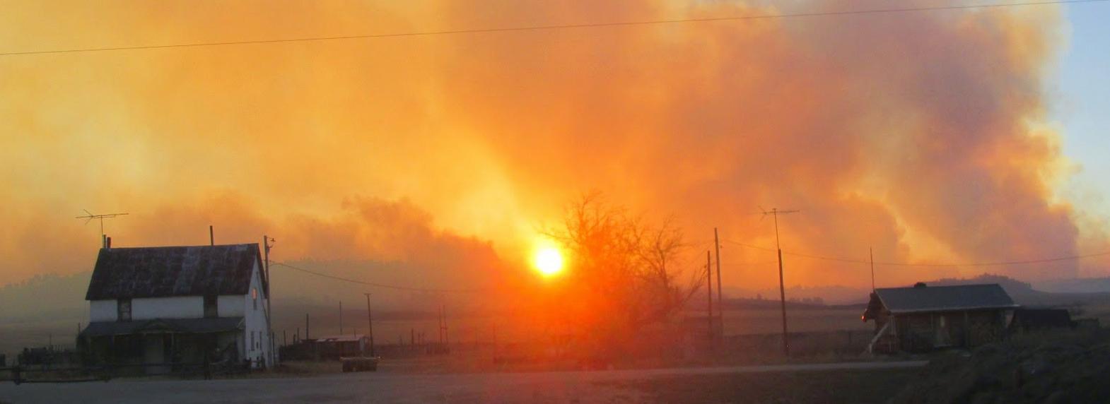 Sheep Draw Fire South Dakota