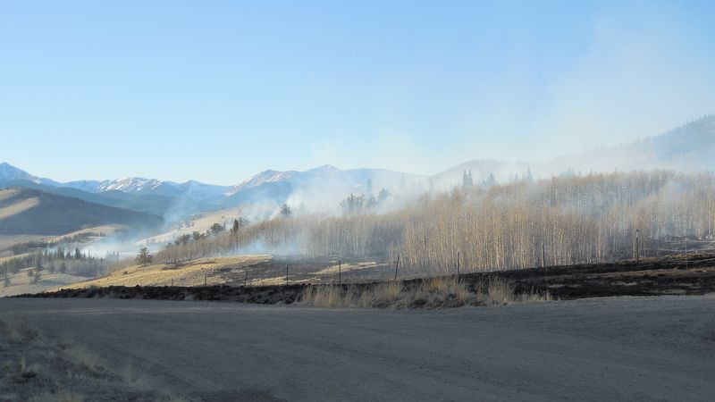 Snyder Creek 2 fire