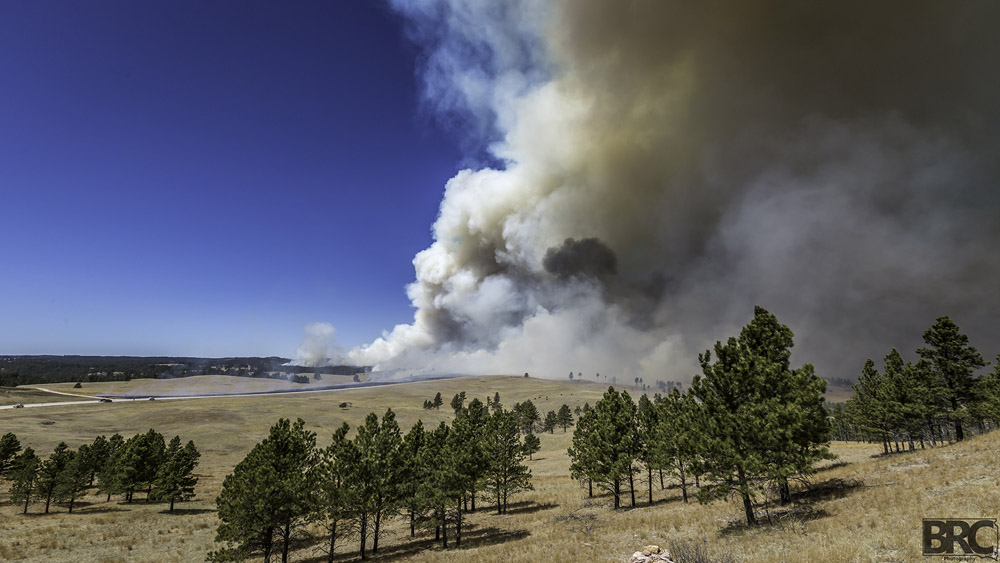 Cold Brook Fire April 13, 2015