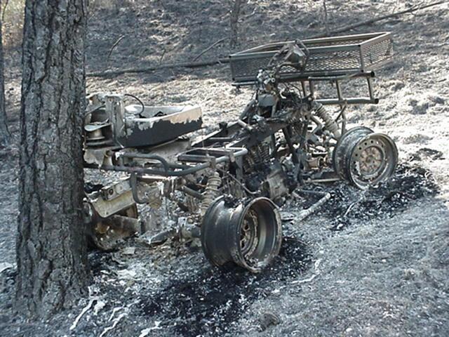Highland Creek ATV burnover