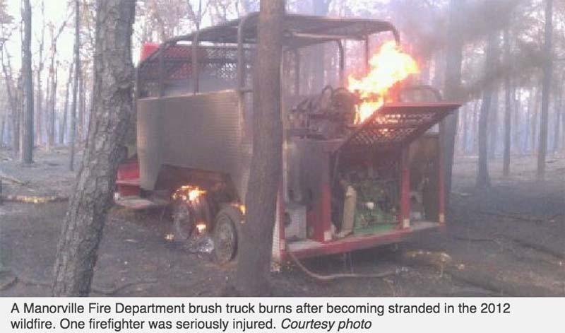 Manorville fire engine