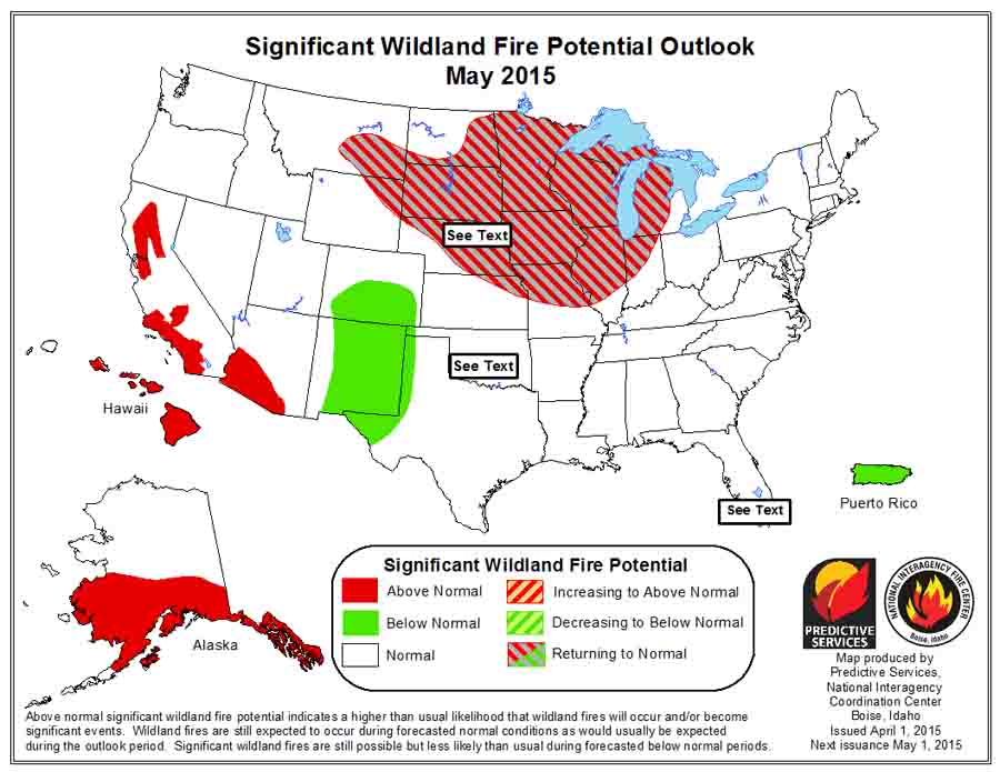 wildfire outlook