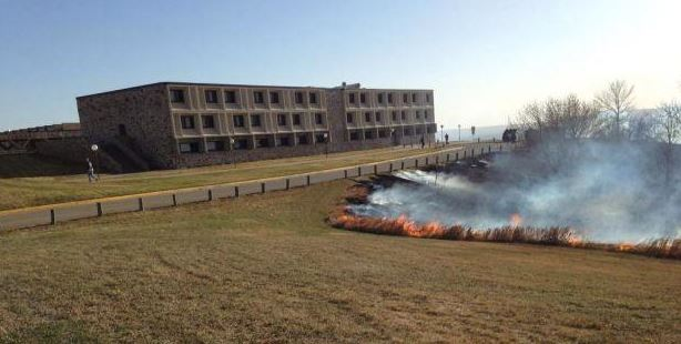 University of Mary wildfire