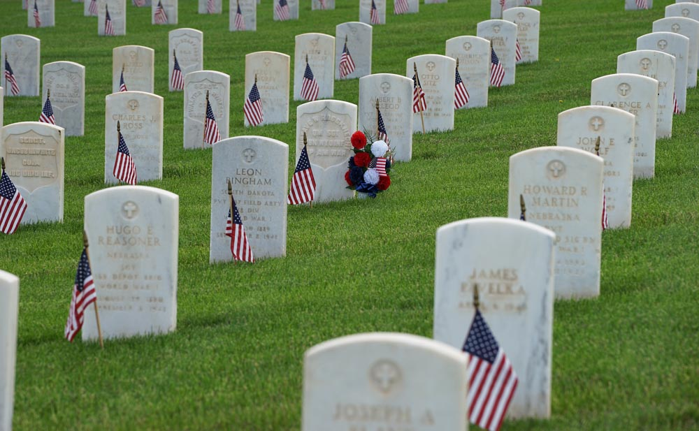Veterans Cemetery memorial day Hot Springs