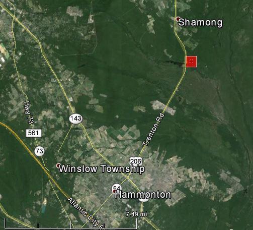 Hammonton fire map