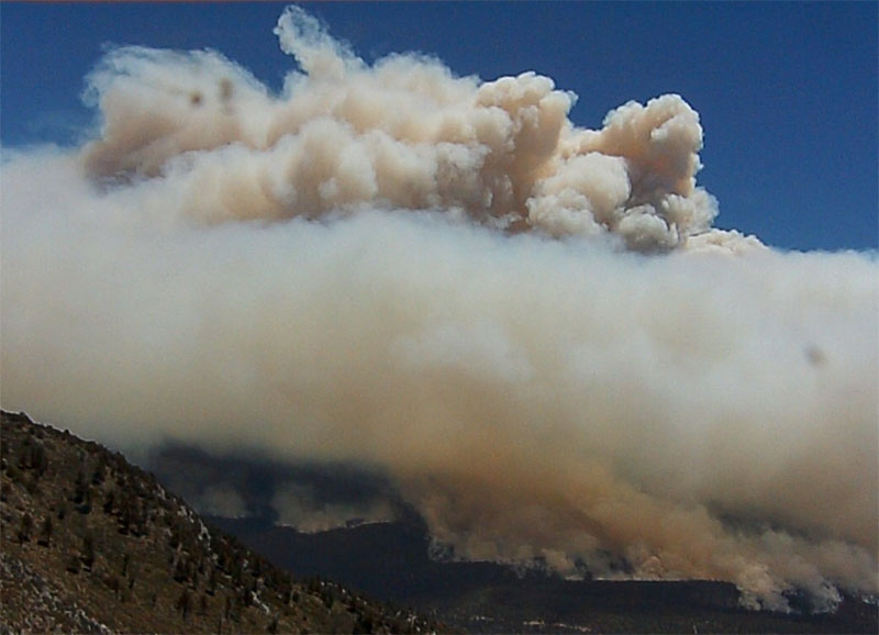 Lake Fire at 1:15 p.m. PT June 18, 2015