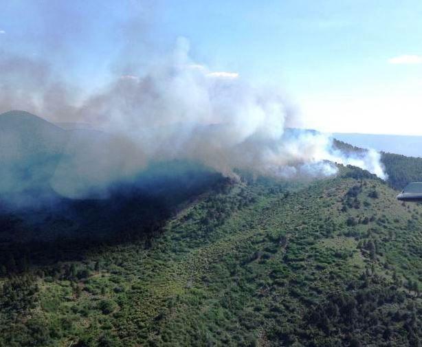 Mount Emma Fire