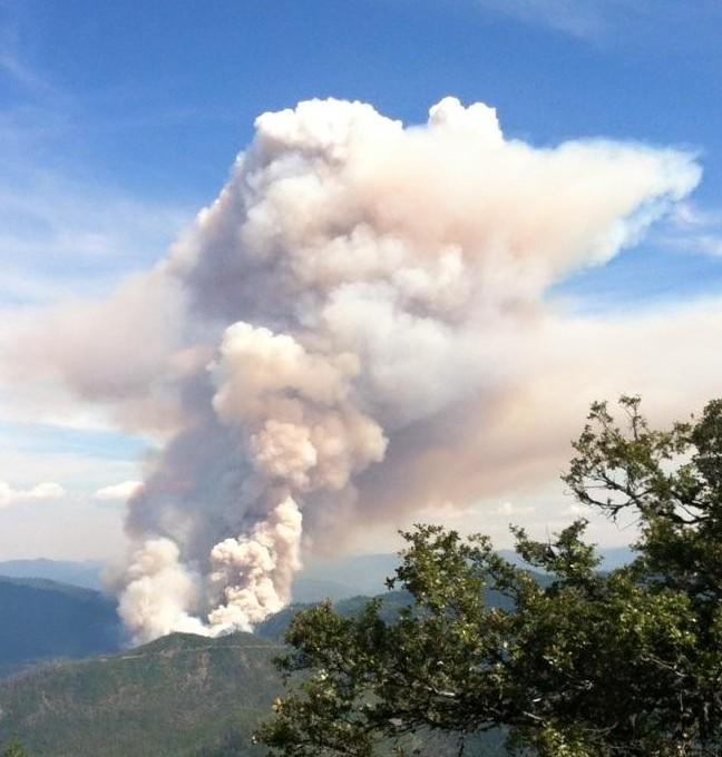 Northern California: Saddle Fire