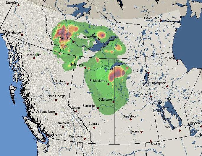 wildfire Smoke forecast Canada June 3
