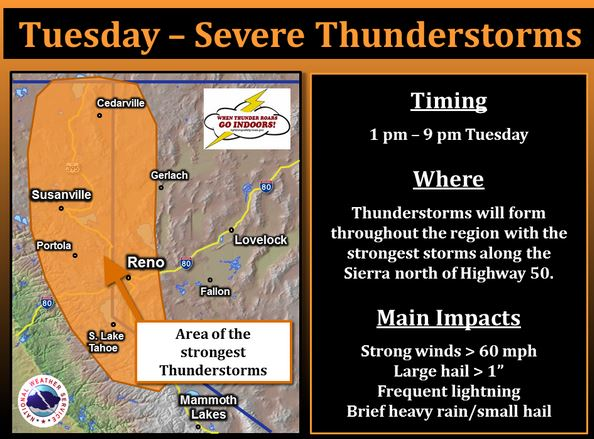 lightning in the forecast for areas in wa or and ca wildfire today