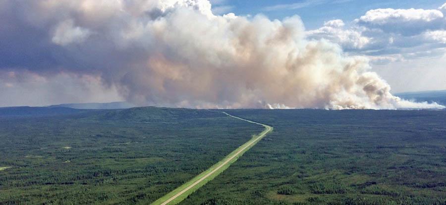 Big Beaver Creek Fire