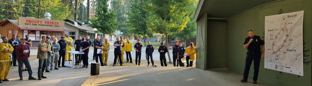 Lowell Fire briefing