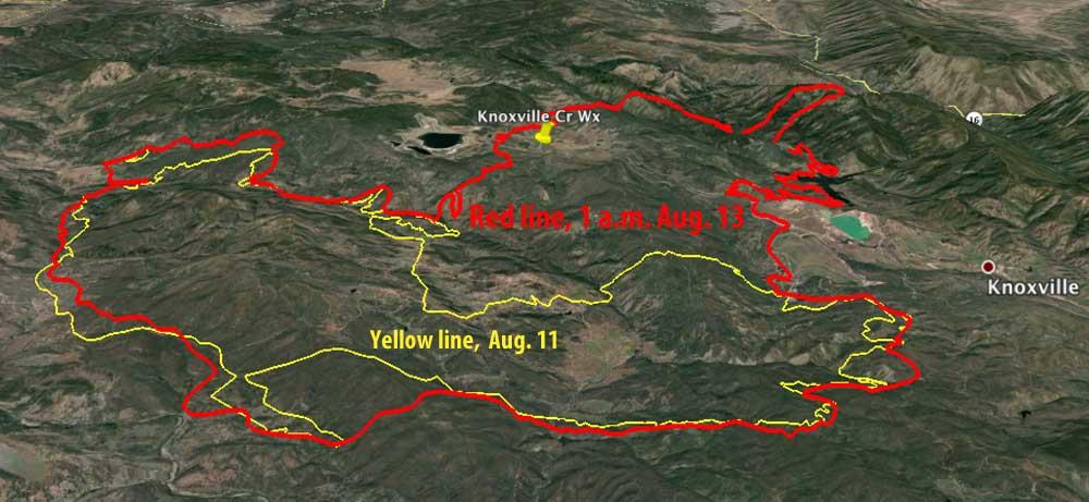 3-D Map Jerusalem Fire