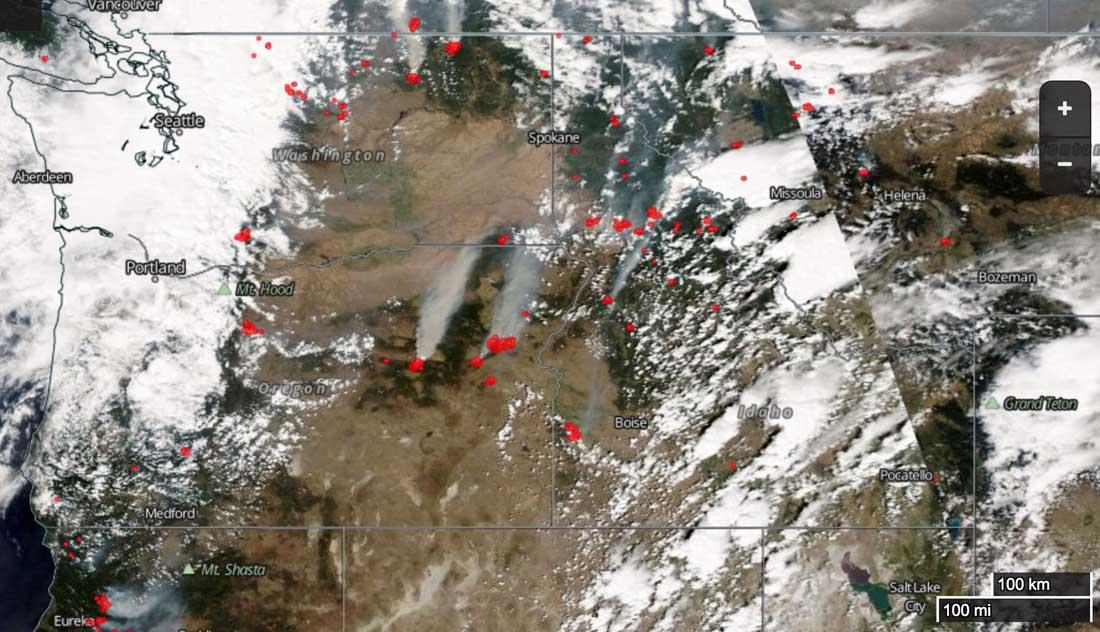 nasa fire map - photo #27