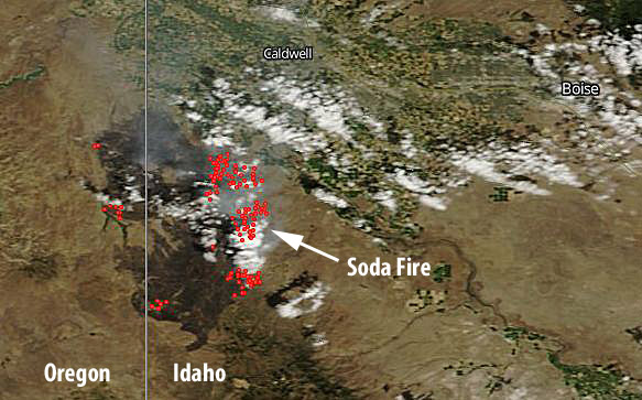Soda Fire Aug 13, 2015
