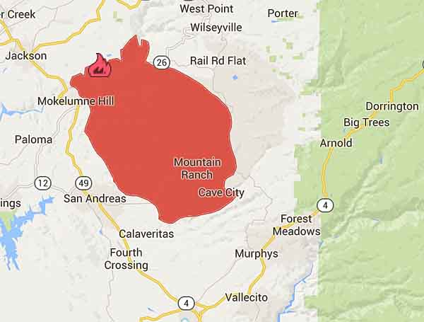 Map Butte Fire