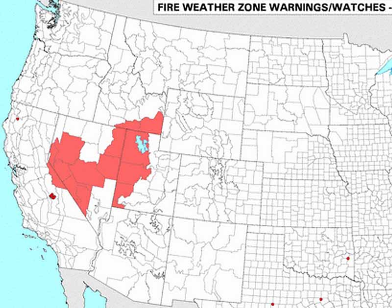 Current Wildfires In Utah Submited Images