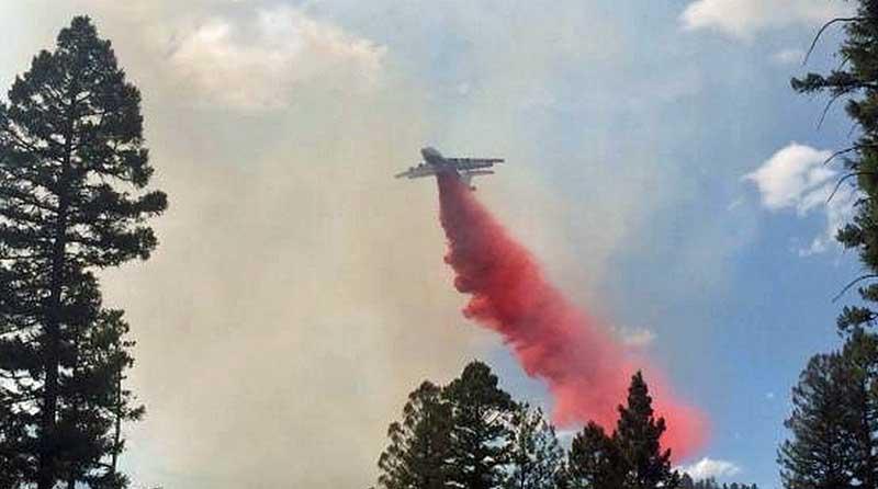 tanker drop Buck Horn Fire