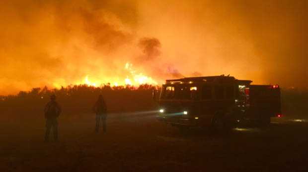 Okanogan Complex of fires