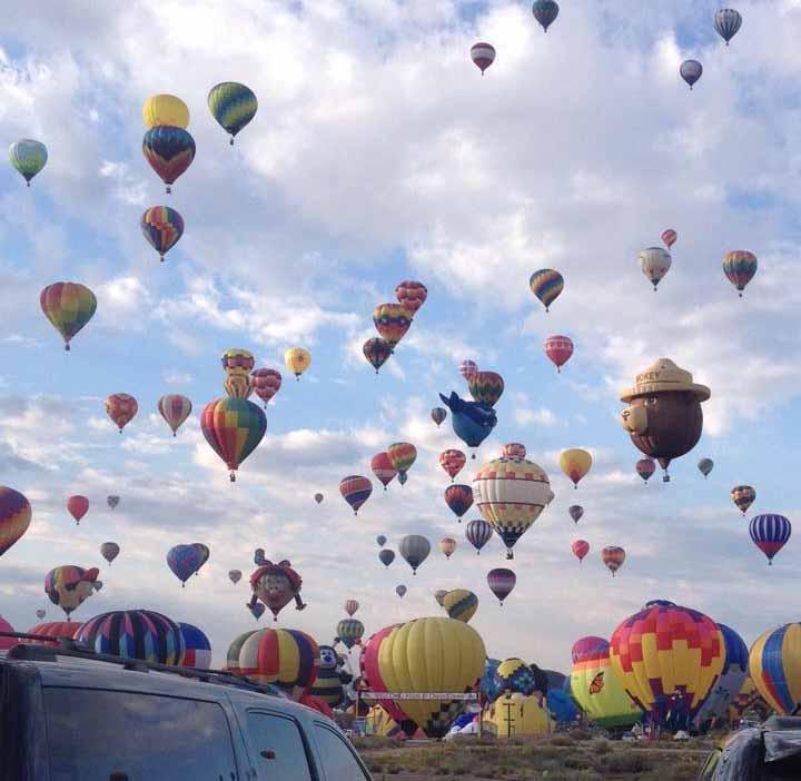 Smokey Bear Balloon.