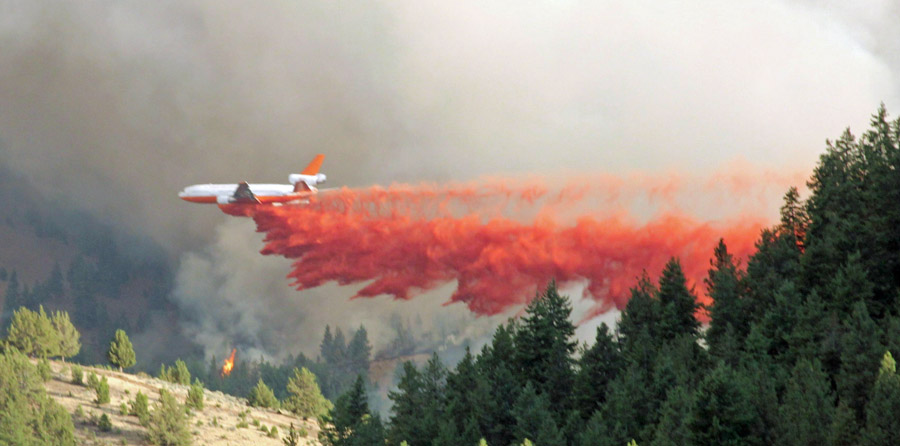 DC-10 Canyon Creek Fire