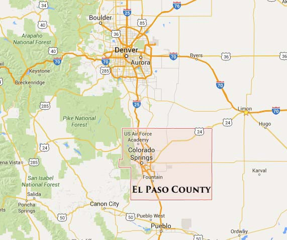 El Paso County Colorado Marriage Licenses