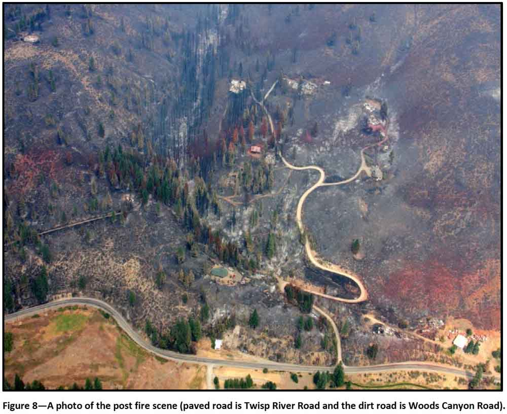 Twisp River Fire: report released as injured firefighter leaves