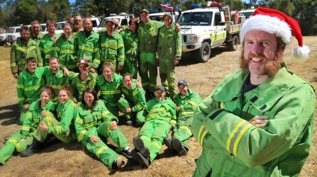 fire crew Otways bushfire