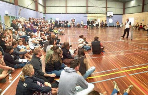 Lorne fire community meeting