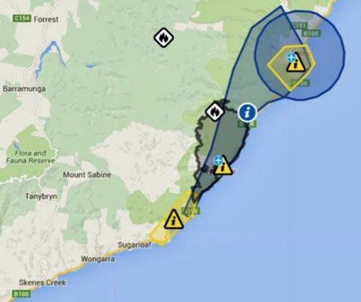 116 homes burn near the Great Ocean Road in Victoria Australia