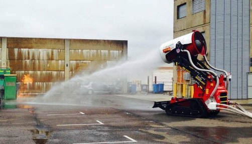 NSW firefighting robot