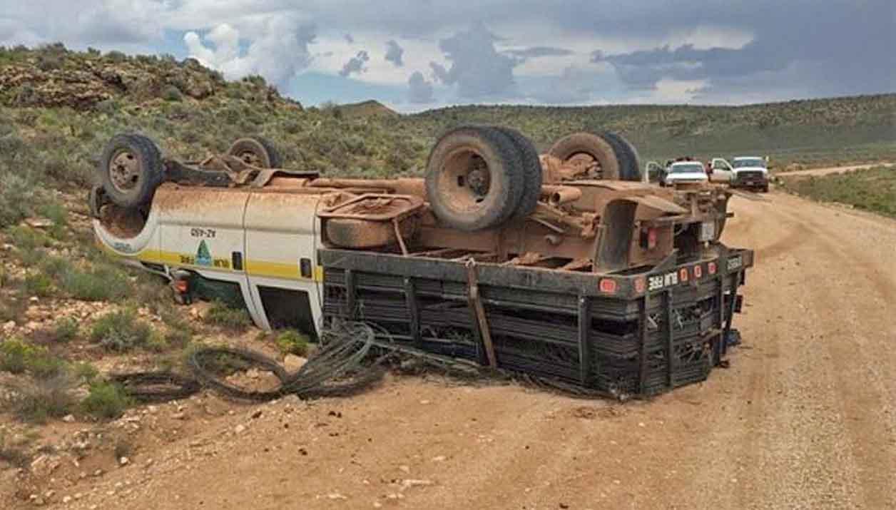 BLM truck rollover Arizona